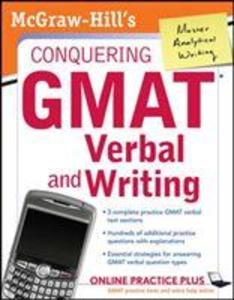 McGraw-Hill's Conquering GMAT Verbal and Writing als Taschenbuch