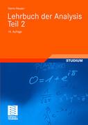 Lehrbuch der Analysis. Teil 2