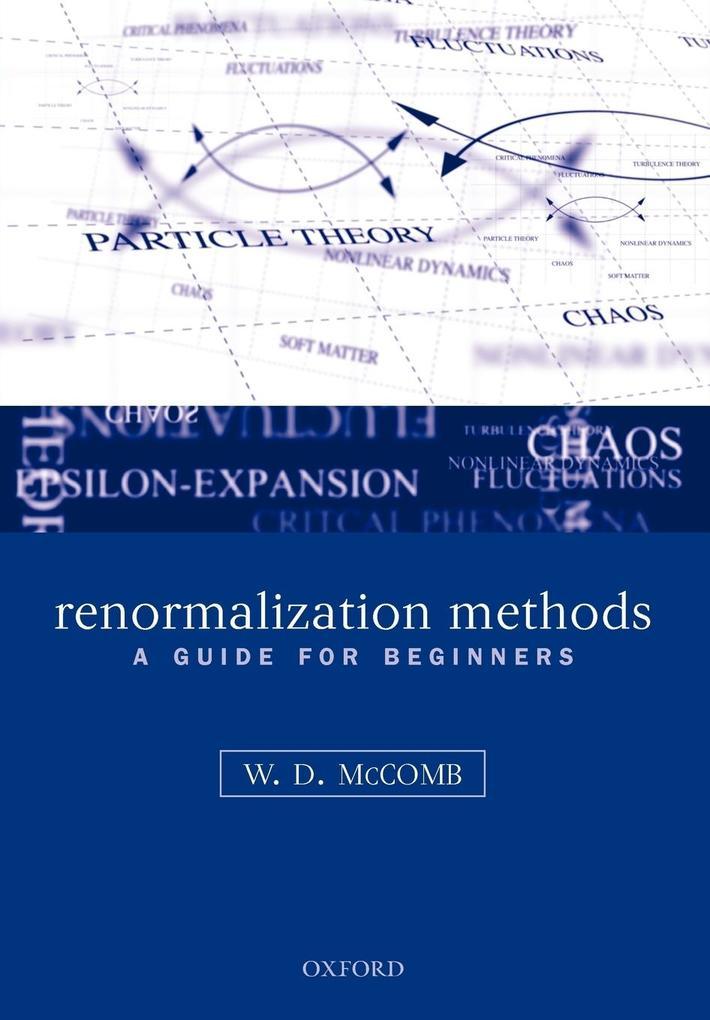 Renormalization Methods als Taschenbuch