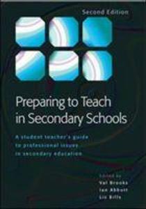 Preparing to Teach in Secondary Schools als Taschenbuch