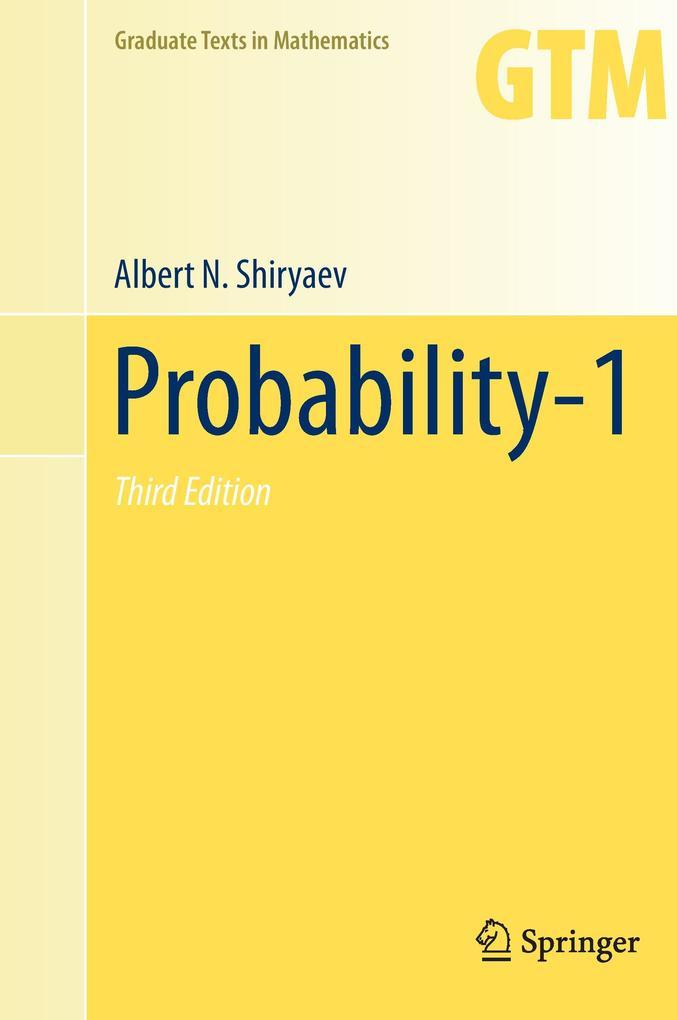 Probability-1 als Buch (gebunden)