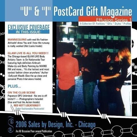 U & I Postcard Gift Magazine als Taschenbuch
