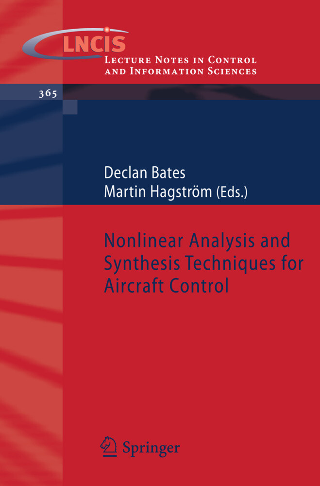Nonlinear Analysis and Synthesis Techniques for Aircraft Control als Buch (kartoniert)