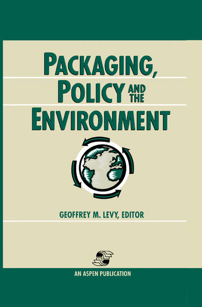 Packaging, Policy and the Environment als Buch (gebunden)