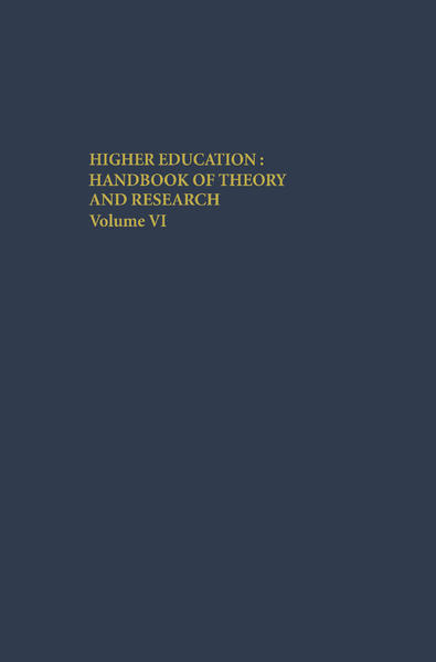 Higher Education: Handbook of Theory and Research als Buch (gebunden)