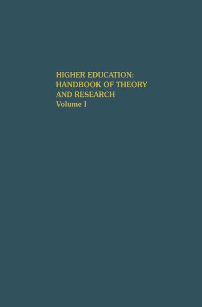 Higher Education: Handbook of Theory and Research als Buch (gebunden)