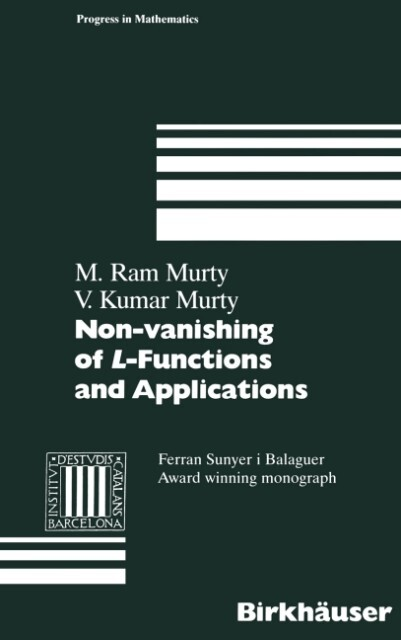Non-vanishing of L-Functions and Applications als Buch (gebunden)