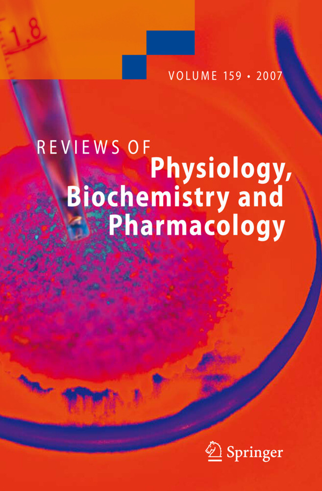 Reviews of Physiology, Biochemistry and Pharmacology 159 als Buch (gebunden)