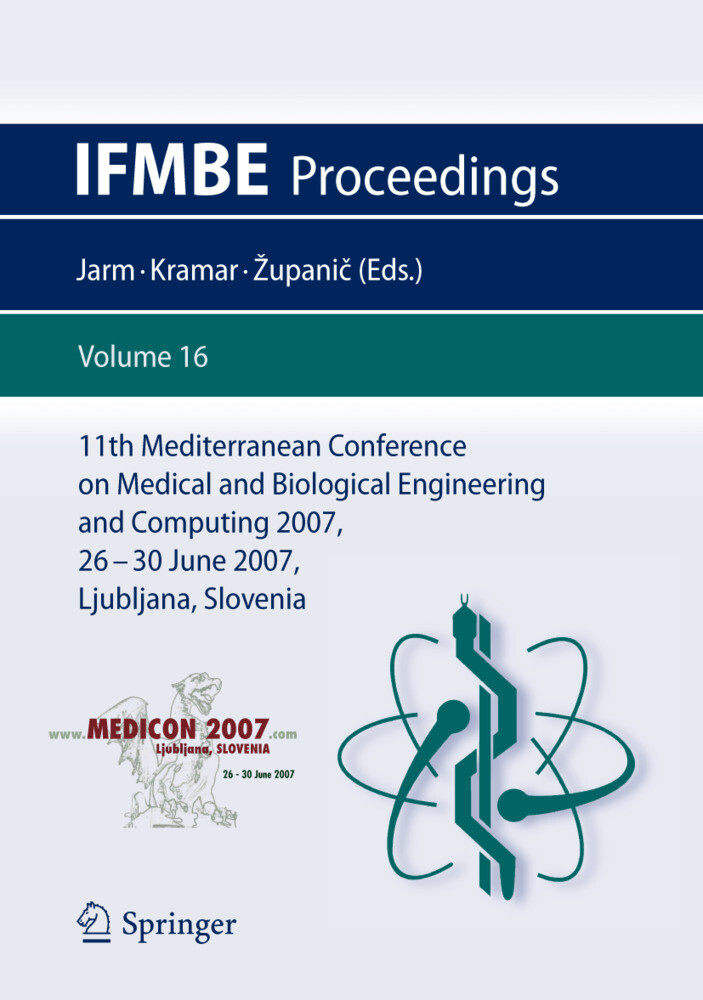 11th Mediterranean Conference on Medical and Biological Engineering and Computing 2007 als Buch (kartoniert)