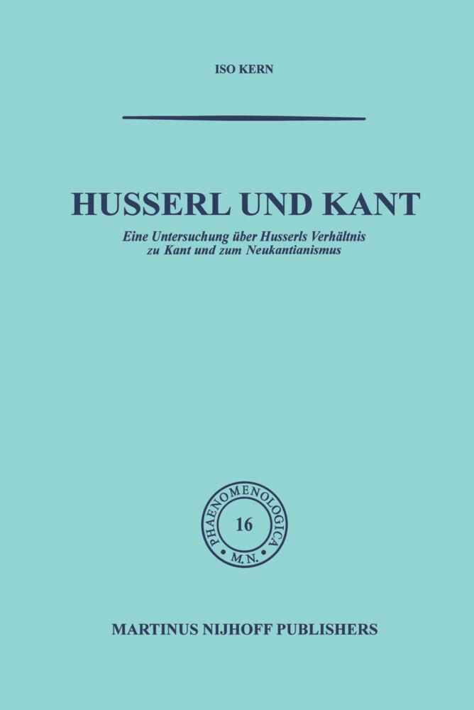 Husserl und Kant als Buch (gebunden)