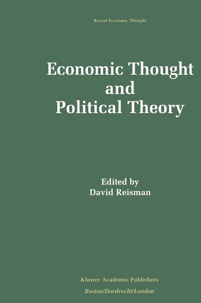 Economic Thought and Political Theory als Buch (gebunden)