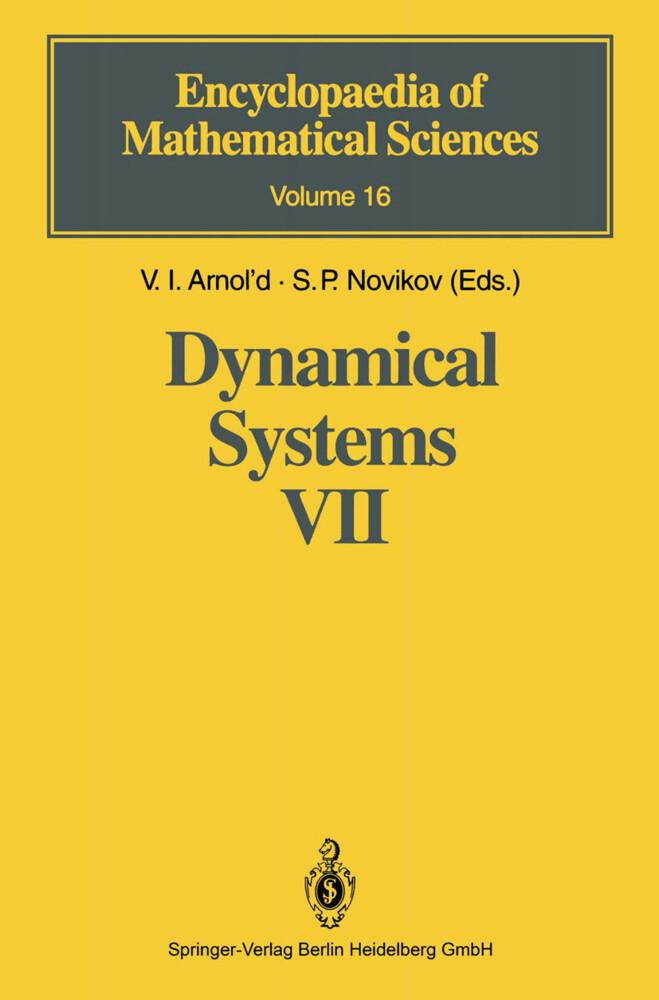 Dynamical Systems VII als Buch (gebunden)
