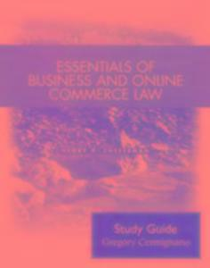 Student Study Guide for Essentials of Business Law als Taschenbuch