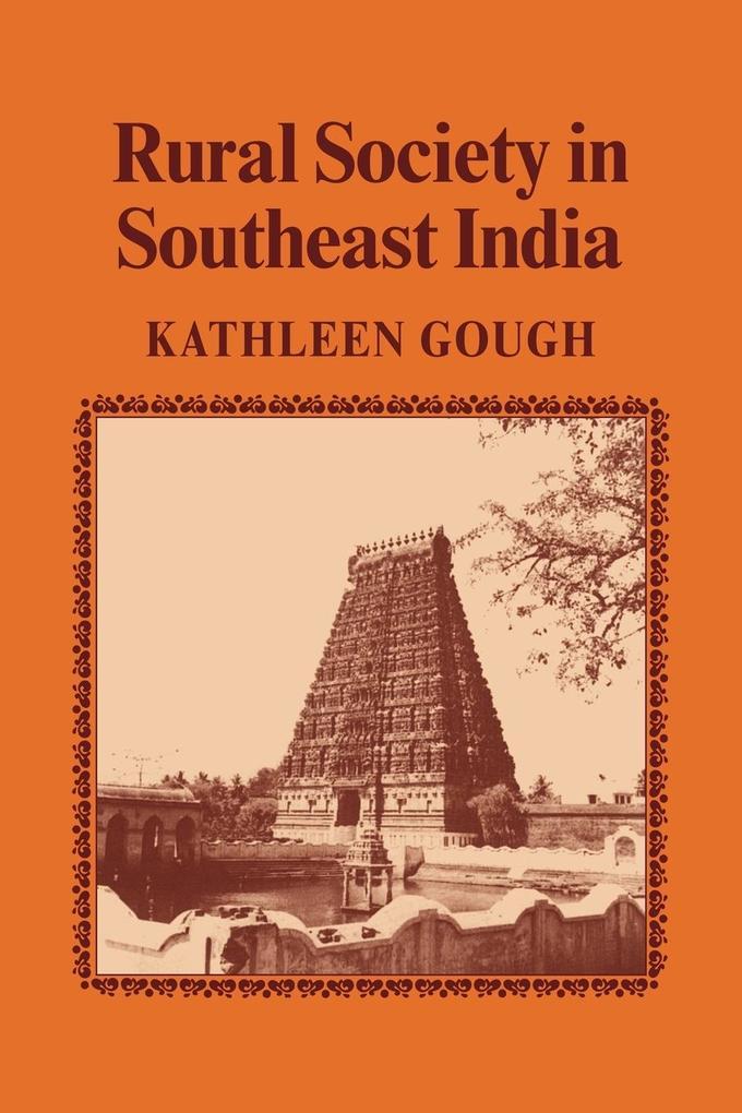 Rural Society in Southeast India als Taschenbuch