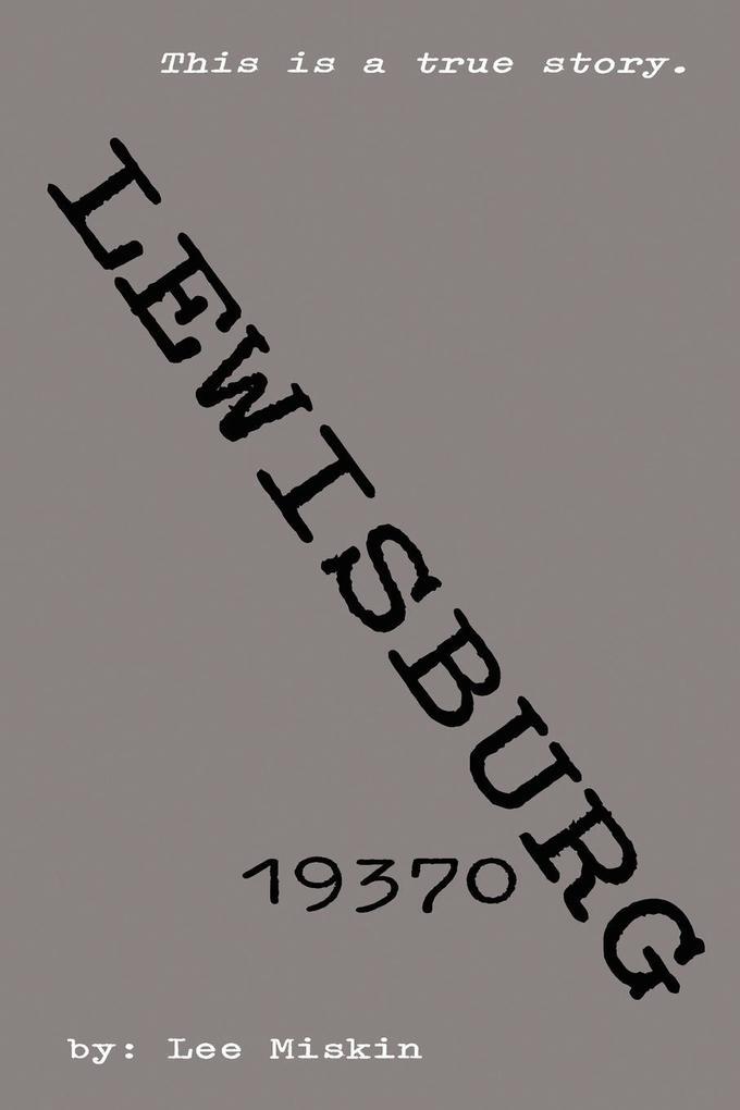 Lewisburg 19370 als Taschenbuch