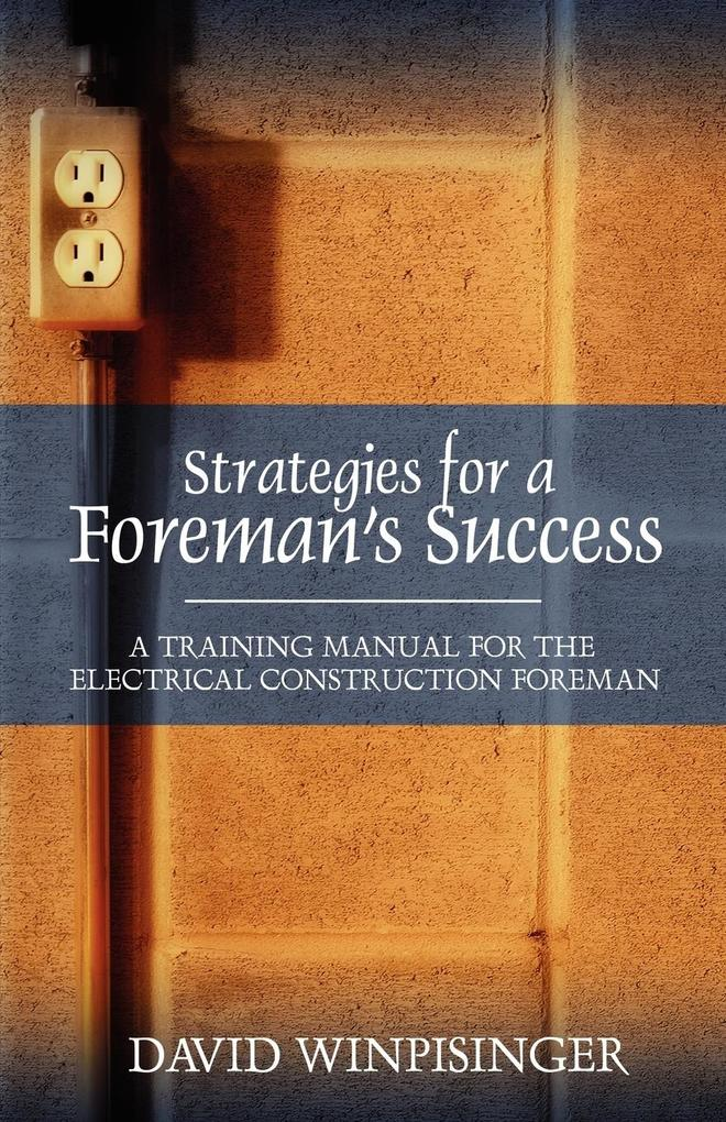 Strategies for a Foreman's Success als Taschenbuch