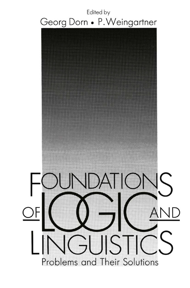 Foundations of Logic and Linguistics als Buch (gebunden)
