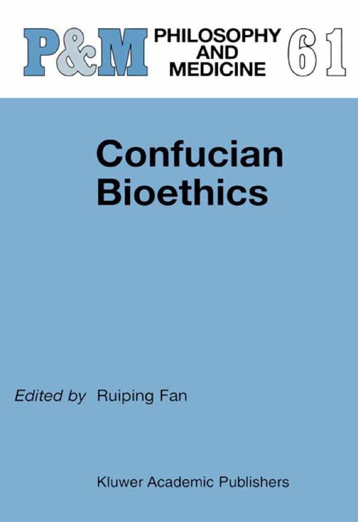 Confucian Bioethics als Buch (gebunden)