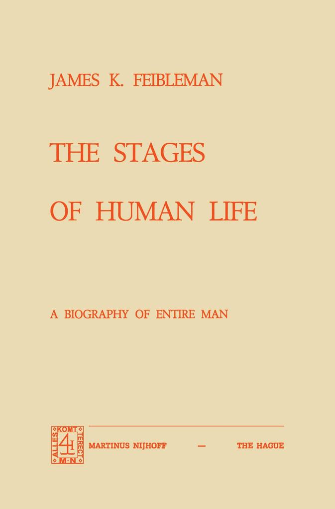 The Stages of Human Life als Buch (kartoniert)