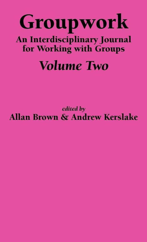 Groupwork Volume Two als Buch (gebunden)