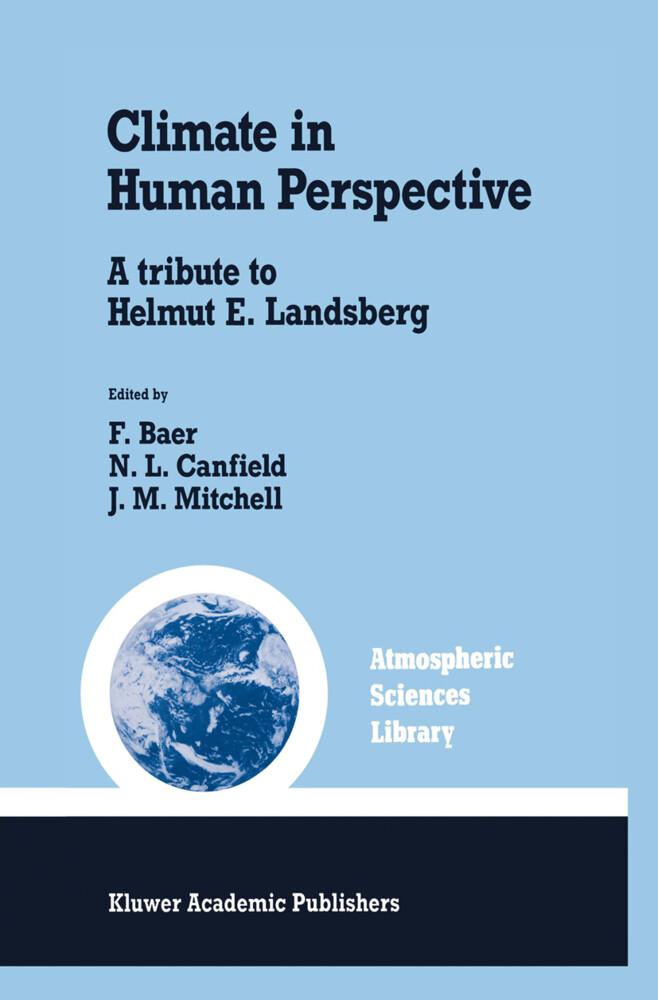Climate in Human Perspective als Buch (gebunden)