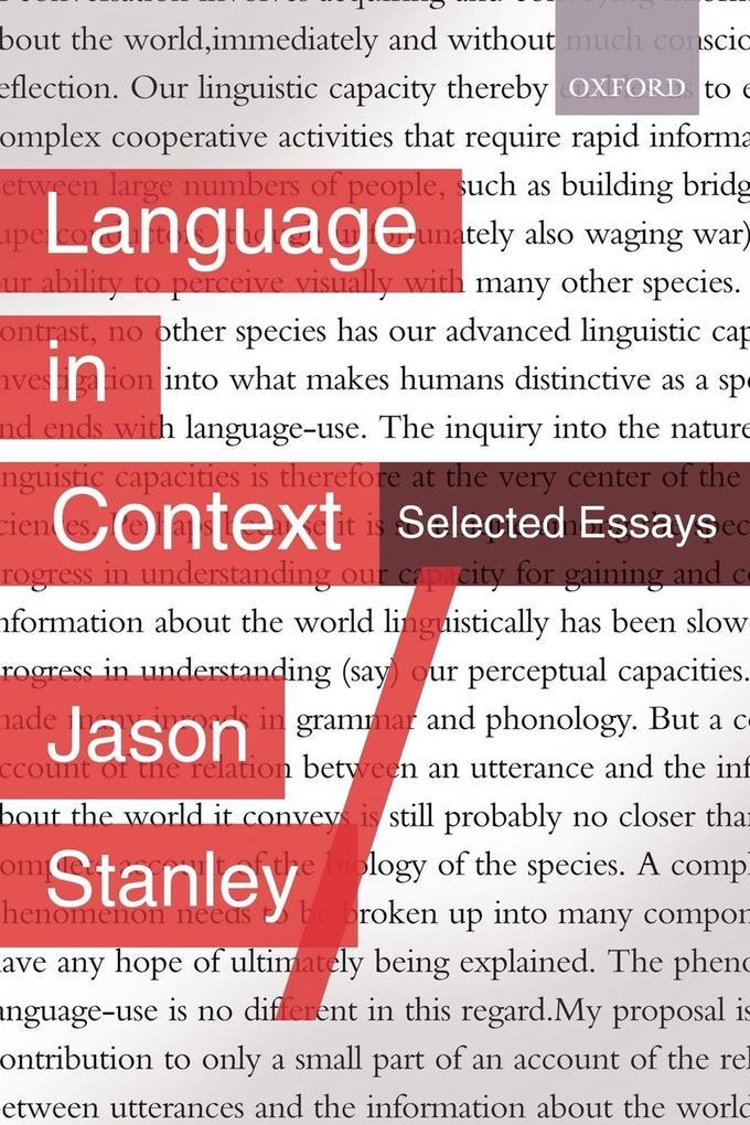 Language in Context als Taschenbuch