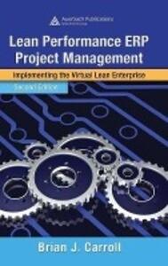 Lean Performance ERP Project Management als Buch (gebunden)