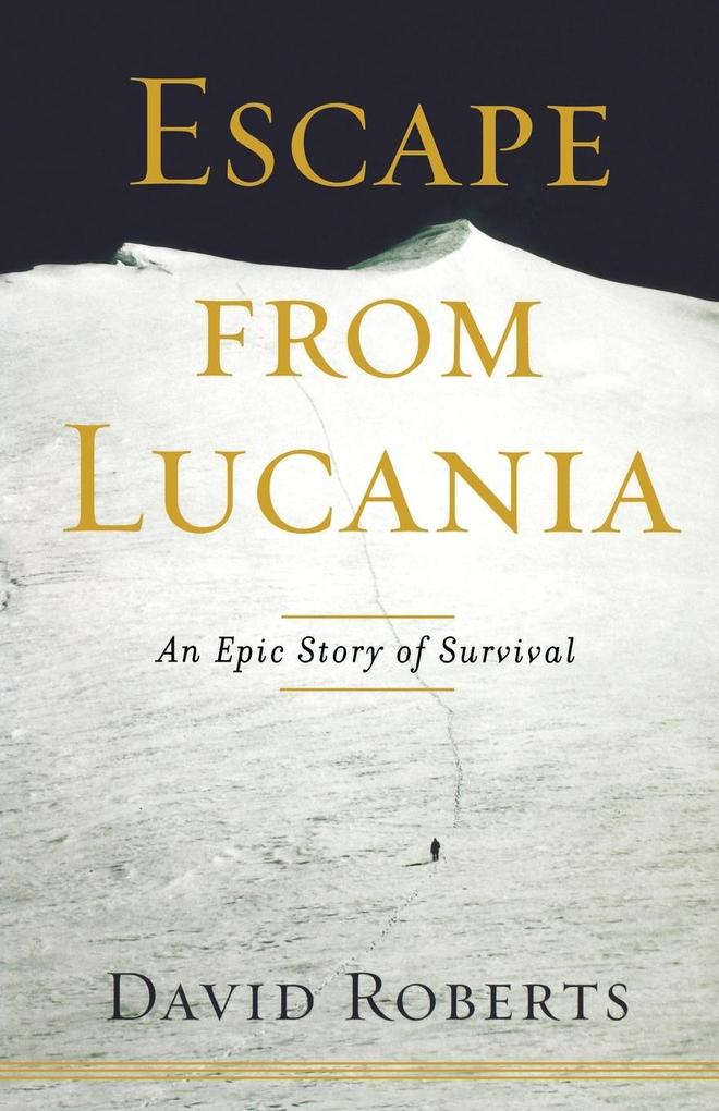 Escape from Lucania als Taschenbuch