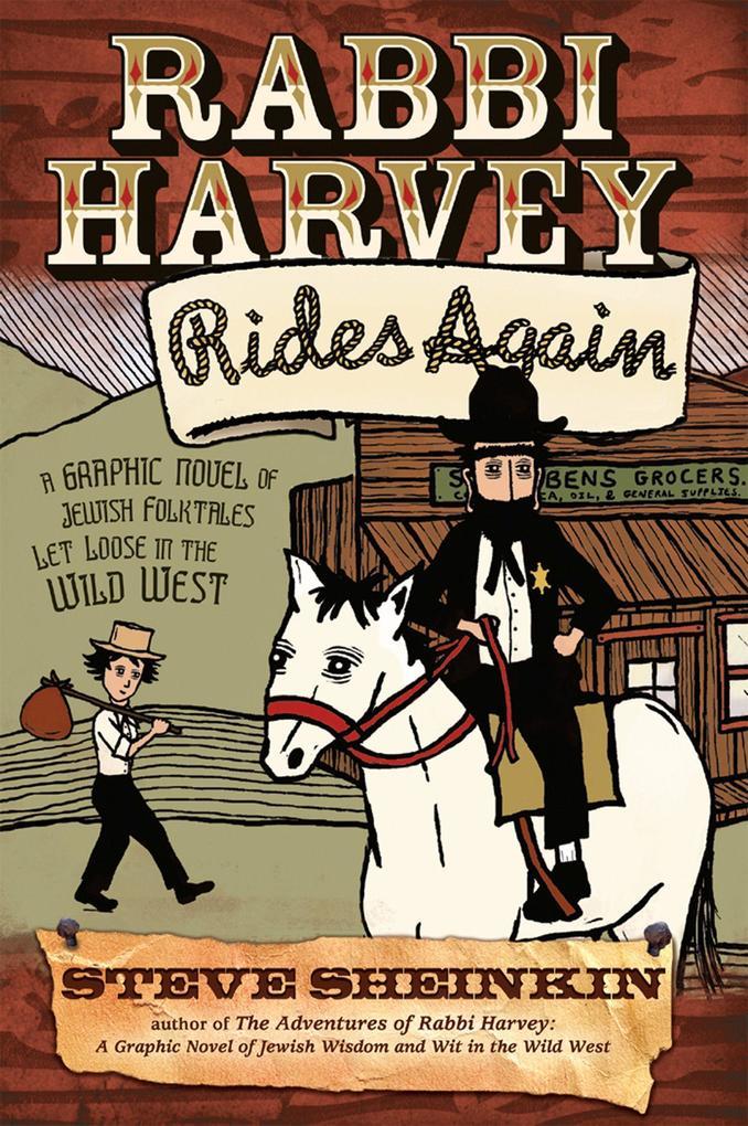 Rabbi Harvey Rides Again als Taschenbuch