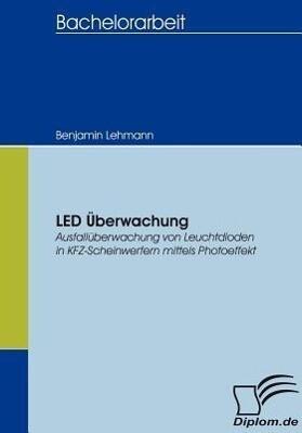 LED Überwachung als Buch (gebunden)