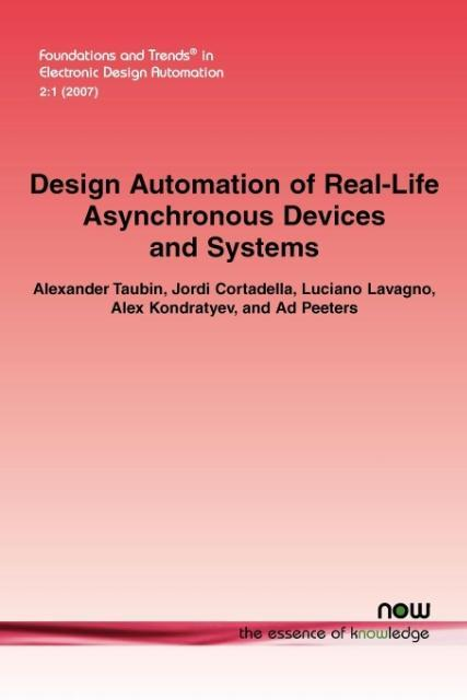 Design Automation of Real-Life Asynchronous Devices and Systems als Taschenbuch