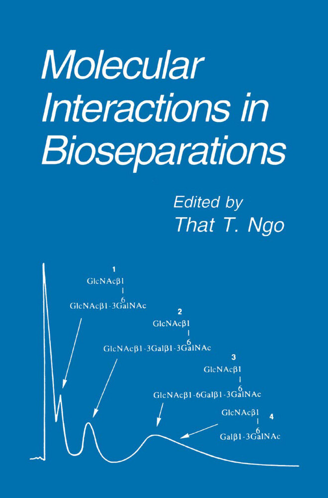 Molecular Interactions in Bioseparations als Buch (gebunden)