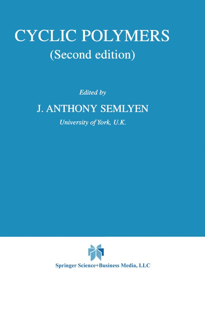 Cyclic Polymers als Buch (gebunden)