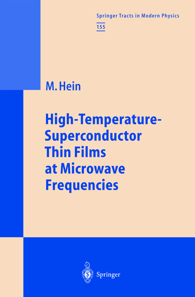 High-Temperature-Superconductor Thin Films at Microwave Frequencies als Buch (gebunden)