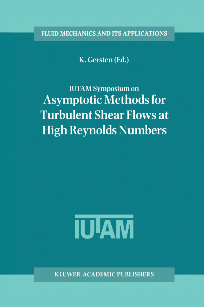 IUTAM Symposium on Asymptotic Methods for Turbulent Shear Flows at High Reynolds Numbers als Buch (gebunden)