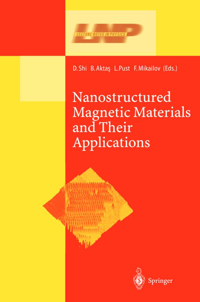 Nanostructured Magnetic Materials and Their Applications als Buch (gebunden)