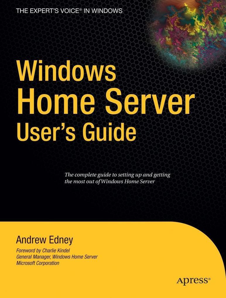 Windows Home Server User's Guide als Taschenbuch