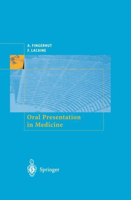 Oral Presentation in Medicine als Buch (gebunden)