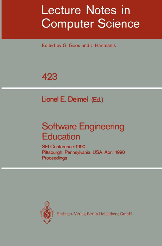 Software Engineering Education als Buch (kartoniert)