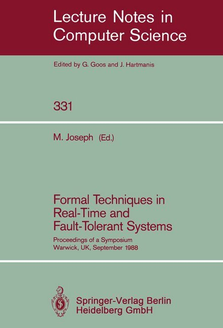 Formal Techniques in Real-Time and Fault-Tolerant Systems als Buch (kartoniert)