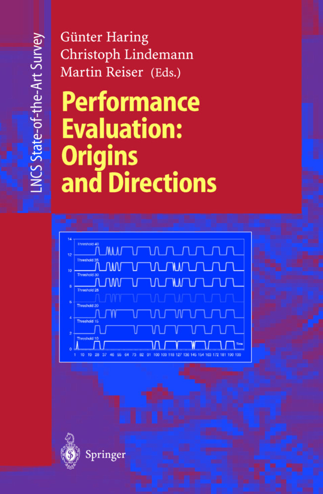 Performance Evaluation: Origins and Directions als Buch (kartoniert)