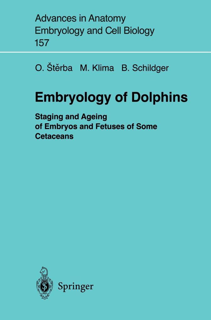 Embryology of Dolphins als Buch (kartoniert)
