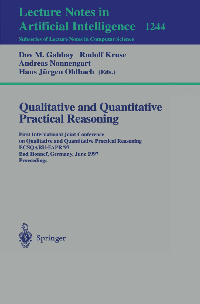 Qualitative and Quantitative Practical Reasoning als Buch (kartoniert)