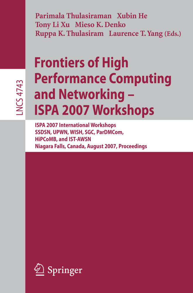 Frontiers of High Performance Computing and Networking - ISPA 2007 Workshops als Buch (kartoniert)