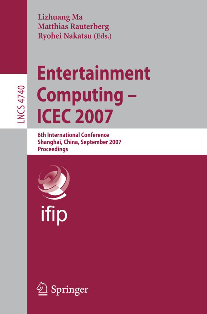 Entertainment Computing - ICEC 2007 als Buch (kartoniert)