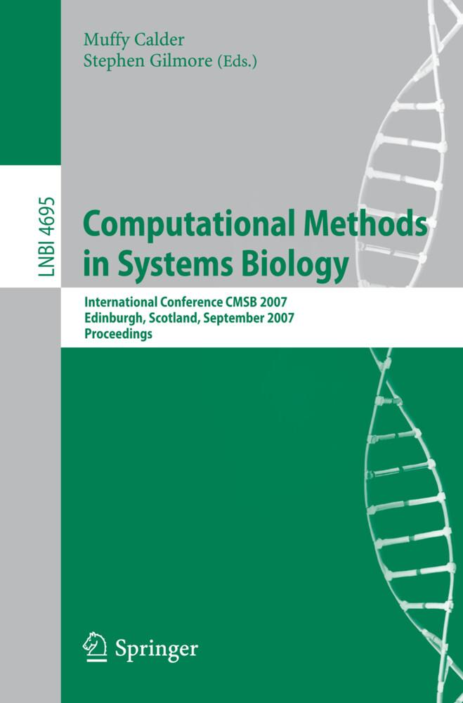 Computational Methods in Systems Biology als Buch (kartoniert)