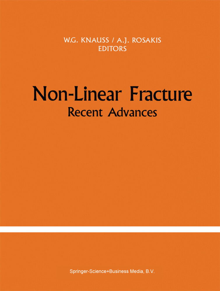 Non-Linear Fracture als Buch (gebunden)