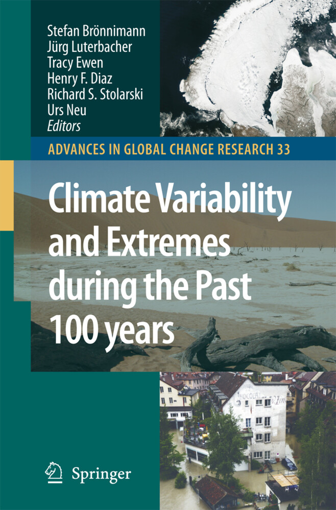 Climate Variability and Extremes during the Past 100 years als Buch (gebunden)