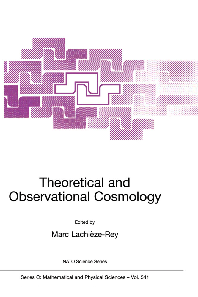 Theoretical and Observational Cosmology als Buch (kartoniert)