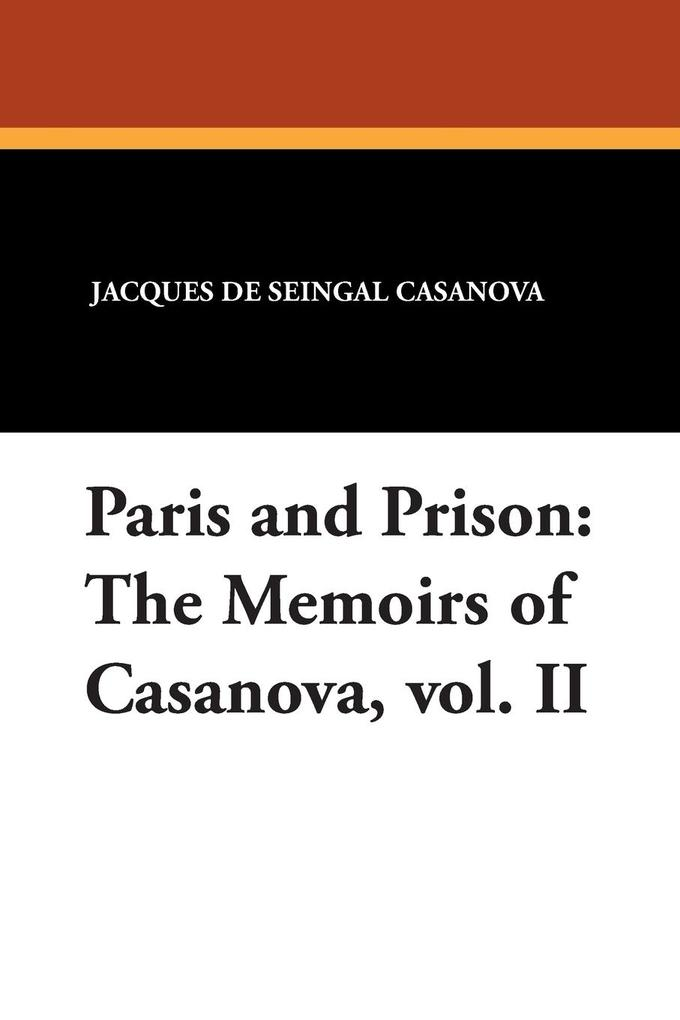 Paris and Prison als Taschenbuch